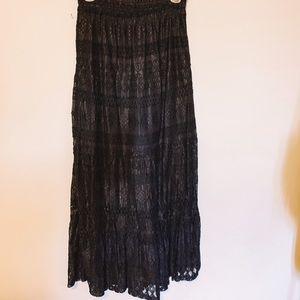 Dresses & Skirts - • l a c e  m a x i  s k i r t  •